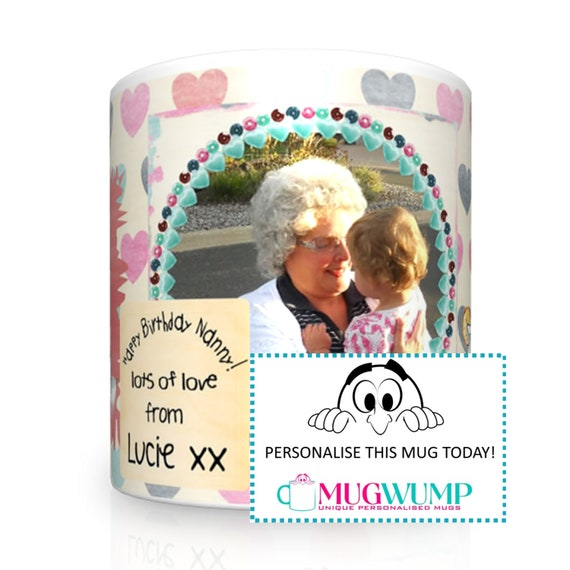 Nanny Birthday Gift. Grandma Birthday Gift. Gift For Nanny