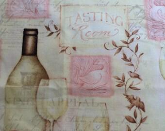 Wine Table Runner