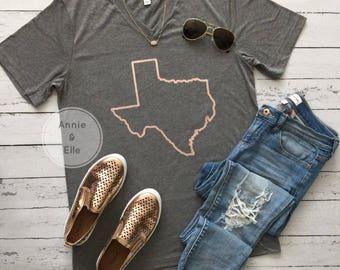 Rose Gold Texas
