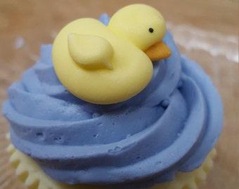 Cupcake Soap - Rubber Duckie Vegan Cupcake Soap - Cupcake - Dessert Soap - Novelty - Easter Soap - Bunny - Gift for Kids - Baby Shower Favor