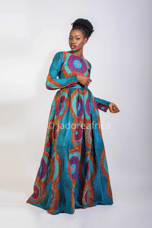Afrikanische Kleid / afrikanischen print-Kleid / afrikanische