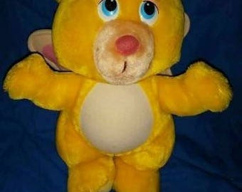 Wuzzles Bumble Bear Plush 12 inches vintage free Wuzzles book with purchase until November 4th sale ends vintage toys