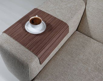 Sofa Arm Tray, Sofa Tray Table, Coffee Table, Sofa Table, Wood Tray, Sofa Arm Table, Gift, Home&Living, FLOC3040FF