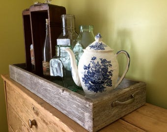 Rustic Barn Wood Tray