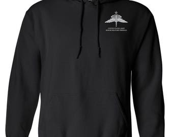 Senior HALO Embroidered Hooded Sweatshirt-7807