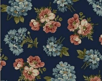 Kensington Flannel by Rosemarie Lavin from Windham Fabrics - Flannel Fabric - Floral Flannel - Windham Flannel - Rosemarie Lavin Fabrics