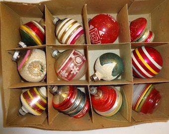 Christmas Ornaments Shiny Brite OH - 8