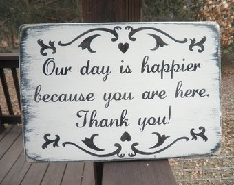 Primitive wedding, country wedding sign, rustic wedding, farm wedding, vintage wedding decor, wedding, wedding sign, thank you sign, sign