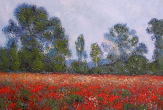 Emejing Champs De Coquelicots Monet Gallery - Joshkrajcik.us ...