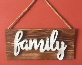 Barnwood style Hanging sign