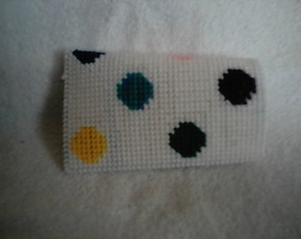 PDF Plastic Canvas Pattern Polka Dot Eyeglass Case