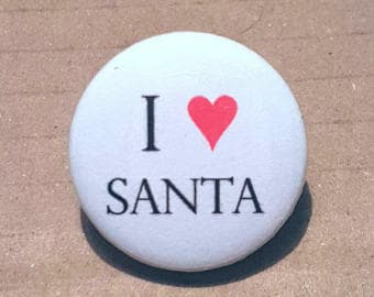 Christmas Badges, I love Christmas, Christmas gifts, I love Santa, Stocking Stuffers, Stocking Fillers, Kids xmas gifts