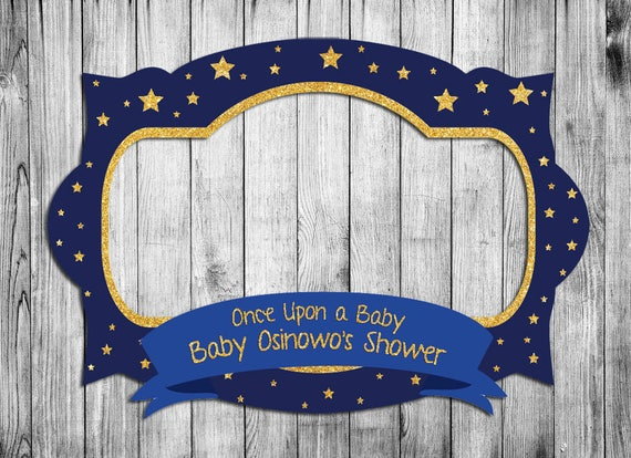 Baby Shower Frame, Birthday Party, Photo Booth Frame, Little Prince  Birthday Party, Baby Shower Party From OdunMu On Etsy Studio