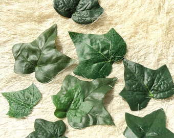 Ivy Leaf Hair Snap Clips