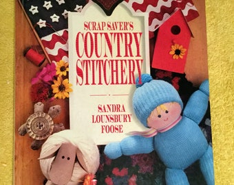 Scrap Savers Country Stitchery 1993