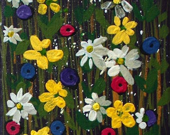 Mini Meadow I Original Paintings