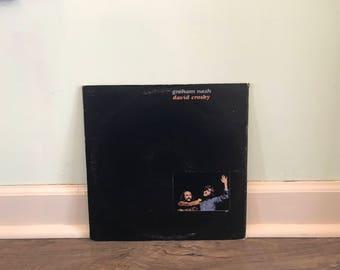 """Graham Nash and David Crosby """"Graham Nash David Crosby"""" vinyl record"""