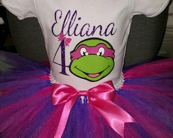 Ninja Turtles Birthday Outfit