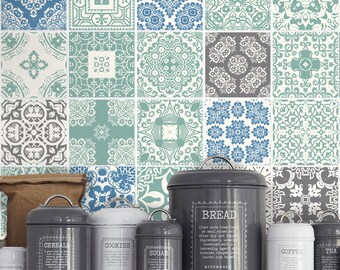 Talavera azulejos especial pegatinas vinilo decoraci n para - Pegatinas para azulejos ...