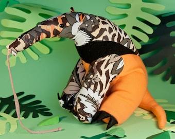 Anteater Plushie Pattern