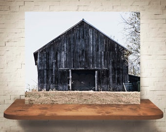 Barn Photograph - Fine Art Print - Color Photography - Landscape Wall Art -  Farm Pictures - Farmhouse Decor - Rustic - Country Decor