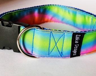 Dog collar / multicolor / pet collar /