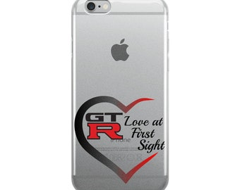 GTR LOve at First Sight iPhone Case