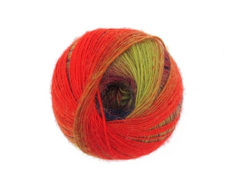 2 Skeins Apple Basket Wool Yarn - Color 01