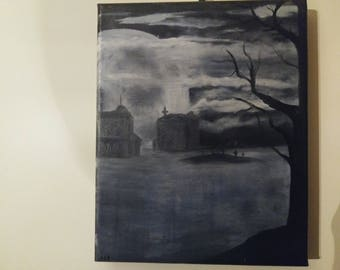 Ghost town 8x10