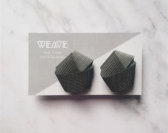 SINTESI D. Minimalist earrings, Anniversary gift, Jewelry for geometry lovers, geometric earrings, minimal PVC earrings, gift for her