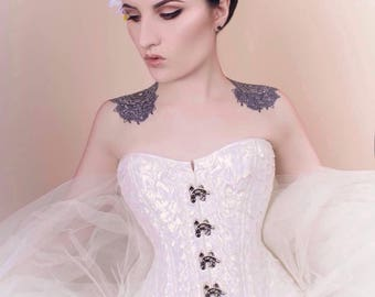 Ange au Clair de Lune 'Moonlit Angel' Corset