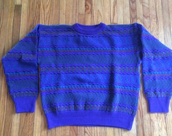 Vintage Colours by Alexander Julian Multicolored Heavy Weight Sweater