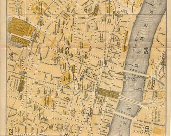 1918 london street map london england united kingdom