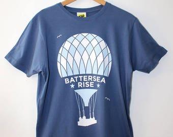 Battersea Rise T Shirt / Battersea Power Stationt T Shirt, Hot Air Balloon T Shirt, Graphic Tee