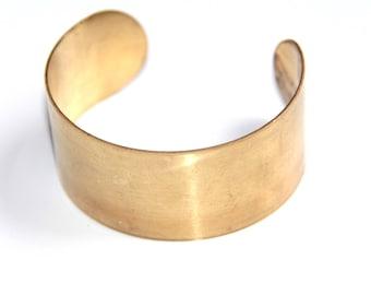 Cuff Golden brass support to customize