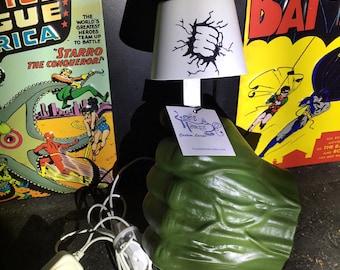 Hulk Smash Lamp! Handmade LED Lamp