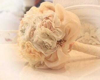 Decoration, bouquet, sale Bouquet flowers, silk, fabric, custom brooch Bouquet, fabric Bouquet, Brautstrauss brooch