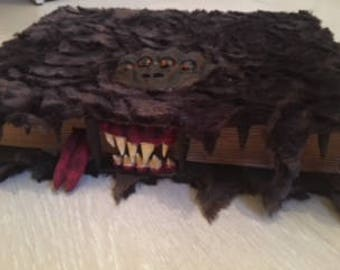 the monster book of monster (harry potter)