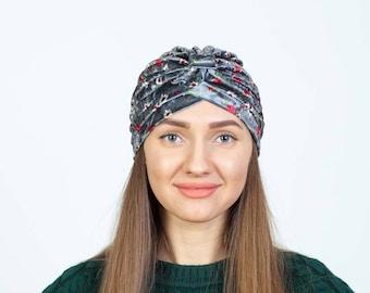 velvet turban hat women  velvet headwrap  stretch headscarf for gift  ladys turban  velvet Hair wrap boho turban winter hat
