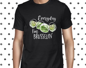 Pun Shirt for Men - Black Vegan T-shirt - Veggie Shirt - Funny Vegan Tshirt - Plant Based Tee - Vegan Men's T-shirt - Herbivore Tee - Cute