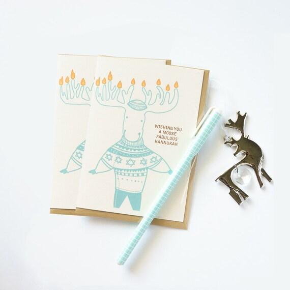 Hannukah / Hanukkah / Chanukah Assorted Cheeky Card Set of 6