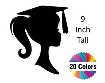 DIY Graduation Centerpiece Party Decoration Graduation Decoration High School Graduation Party Centerpiece Pick 9 Inch 20 Colors