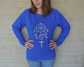 Sweatshirt woman dream catcher
