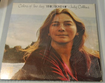 Judy Collins - Colors of the Day - The Best of Judy Collins vinyl record album