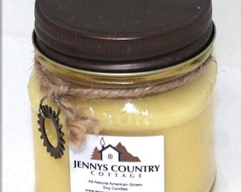 Monkey Farts Soy Candle - 8 Oz. Mason Jar