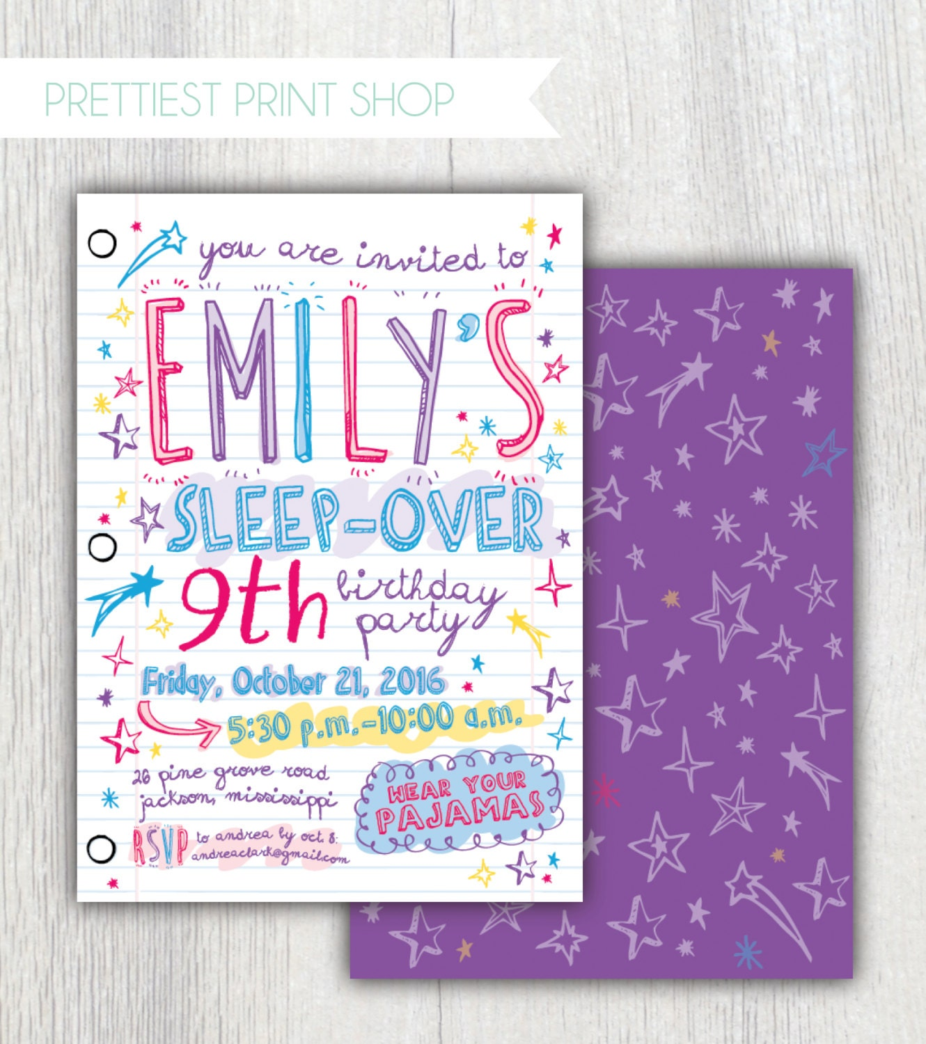 Geeky image for printable invitation paper
