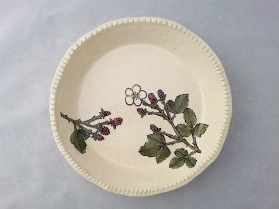 Blackberry Pie Plate