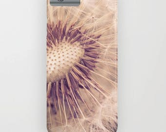 iPhone or Galaxy Case or skin, Gift for mom, wife, phone case, Original art, teen gift, Dandelion phone skin, iPhone or Galaxy, iPhone 6 7