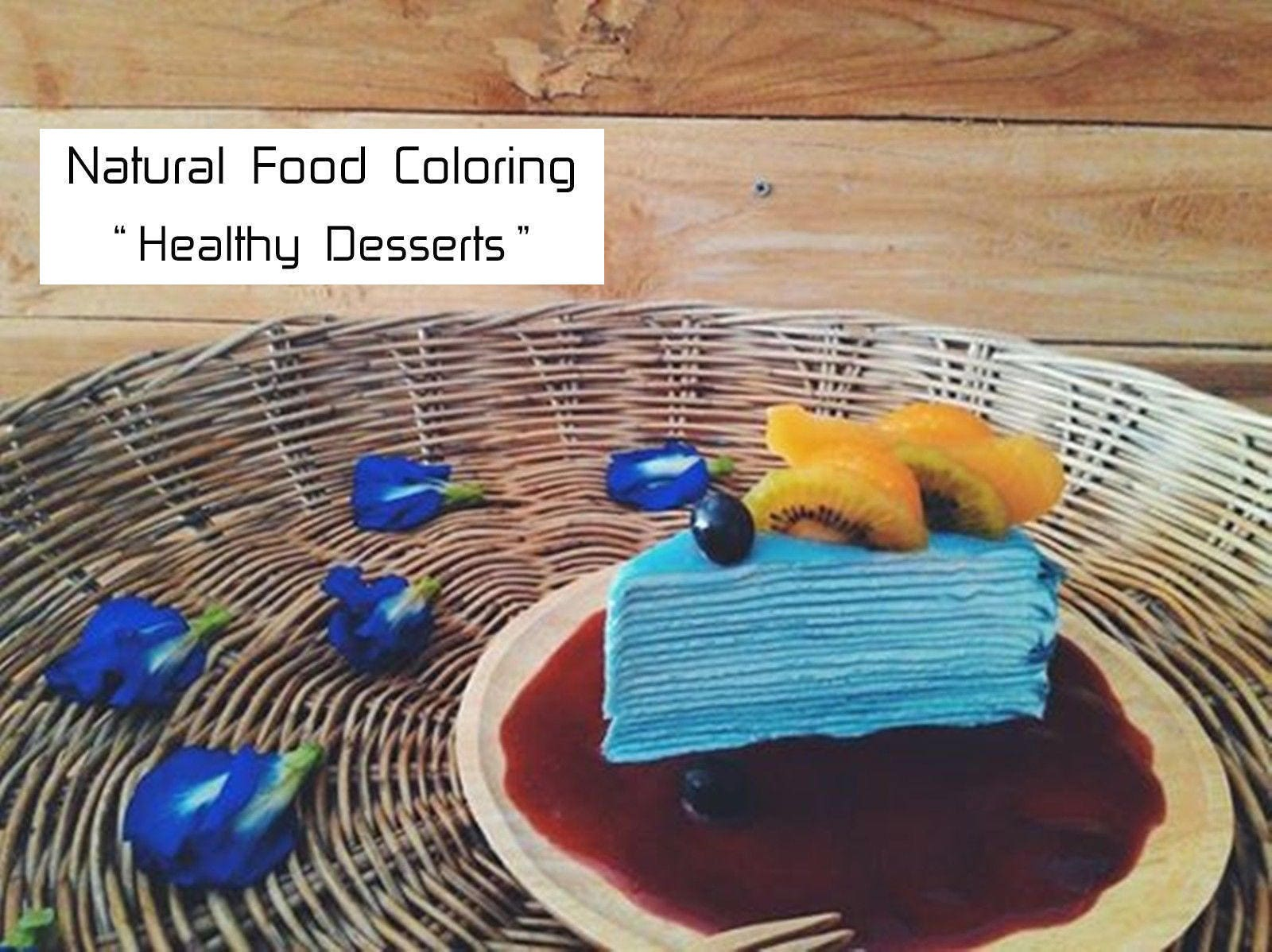 Organic Natural Food Coloring for Baking, Cake, Cookie, Food Dyes ...