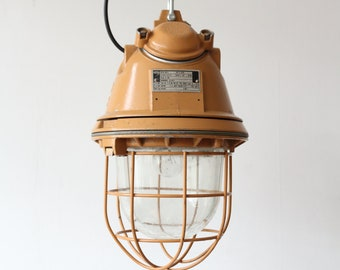 Large EOW explosion proof industrial factory light - vintage lighting